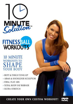 10-Minute Fitness Ball Workout VDV