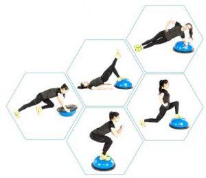 Balance Trainer Half Ball Exercises