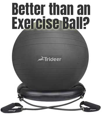 Exercise Ball with Ring - Better than an Exercise Ball?