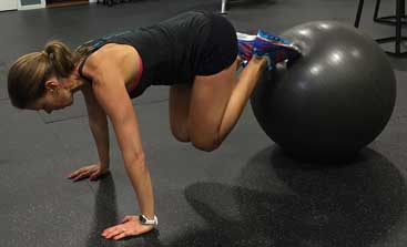 Gym Ball Exercises for Flat Stomach