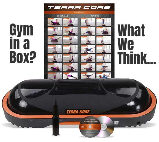 Terra Core Balance Trainer for building muscles, stability, balance and core strength at home
